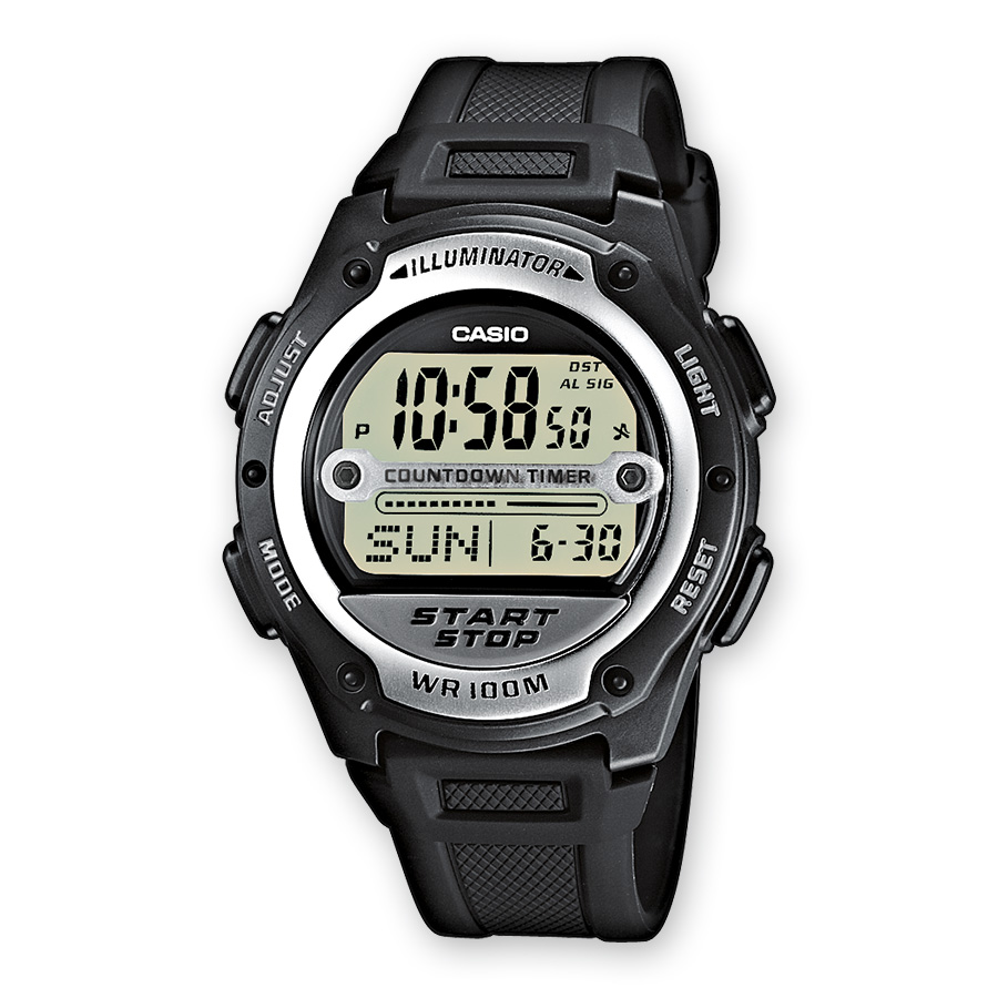 CASIO Collection W-756-1AVES