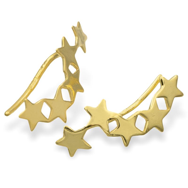 lovejewel Ear Climber Sterne Silber 925/000 vg.